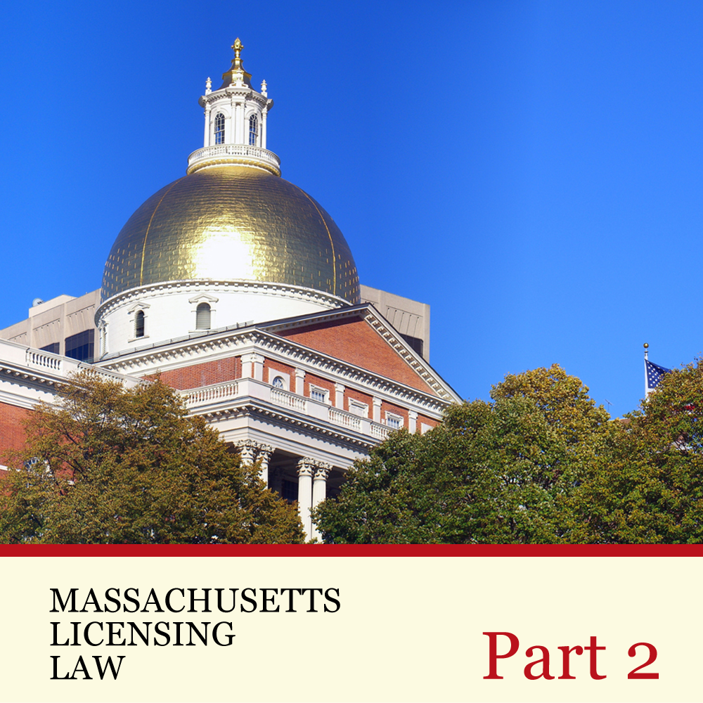 Massachusetts Licensing Law